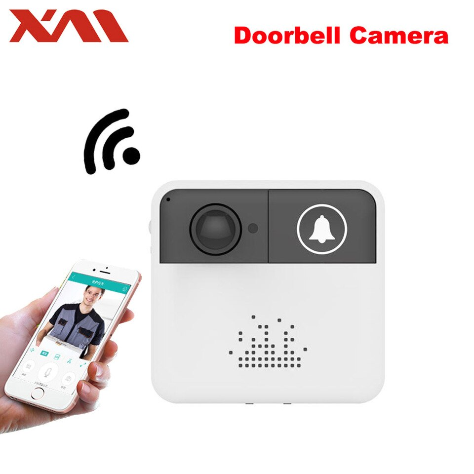Mini-Wireless-WiFi-Video-Doorbell-Camera-Door-bell-Monitor-Smart-Camera-Video-Intercom-Phone-Intercom-Audio.-XM-IDS1